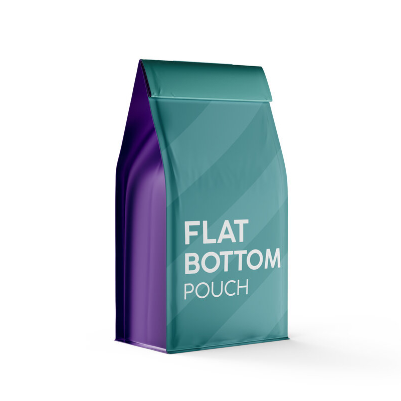 Flat Bottom pouch coffee packaging