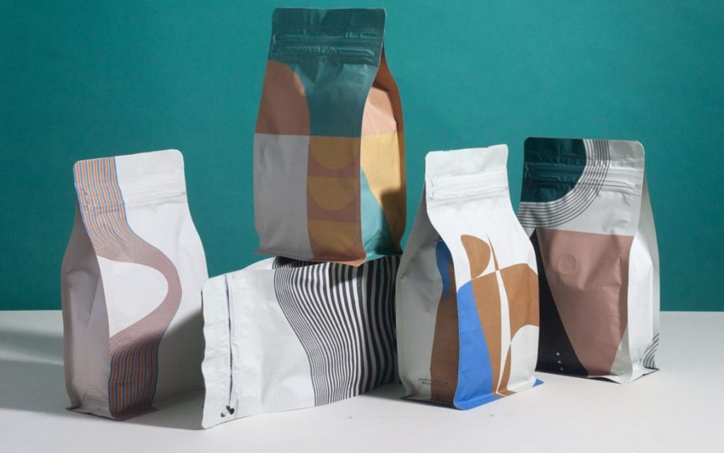 coffee packaging stand out