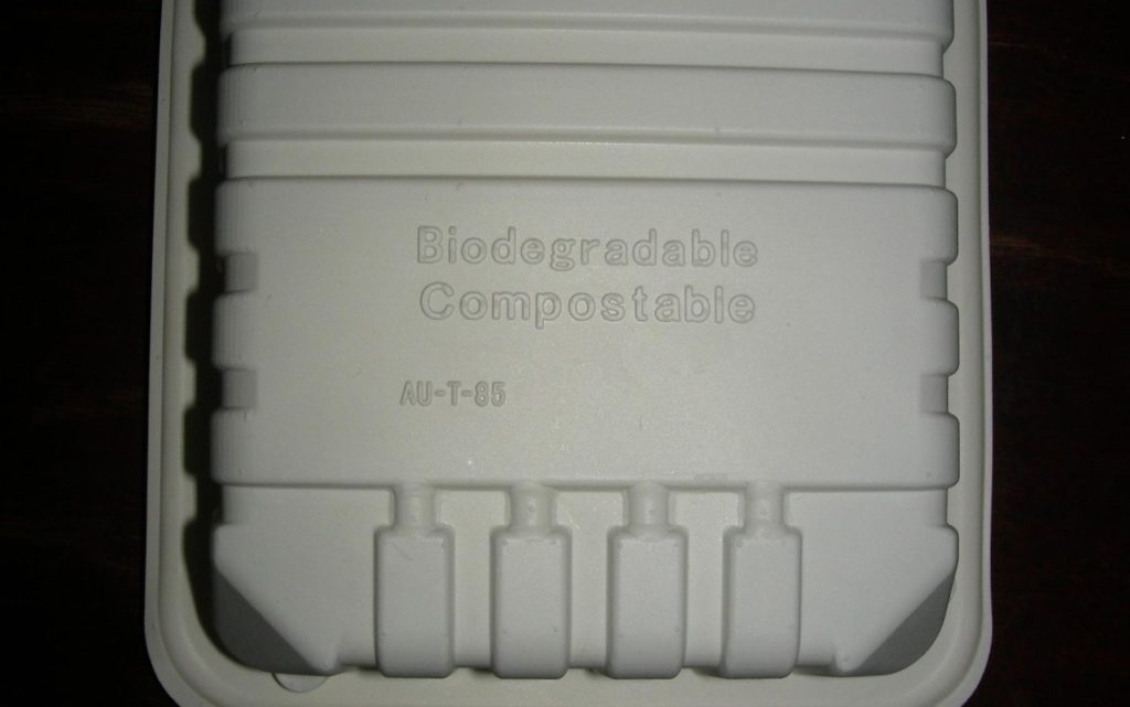 styrofoam pla packaging