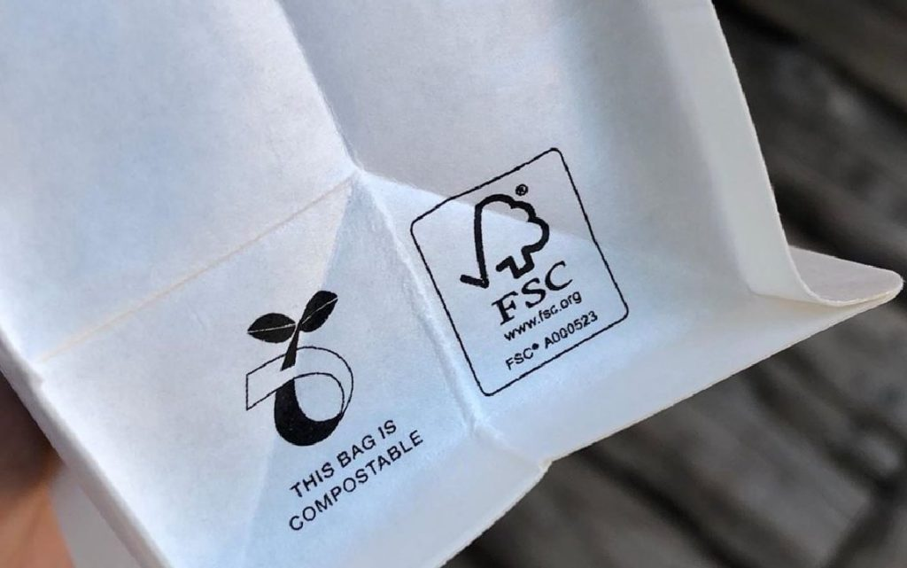sustainability certifications on coffee labels