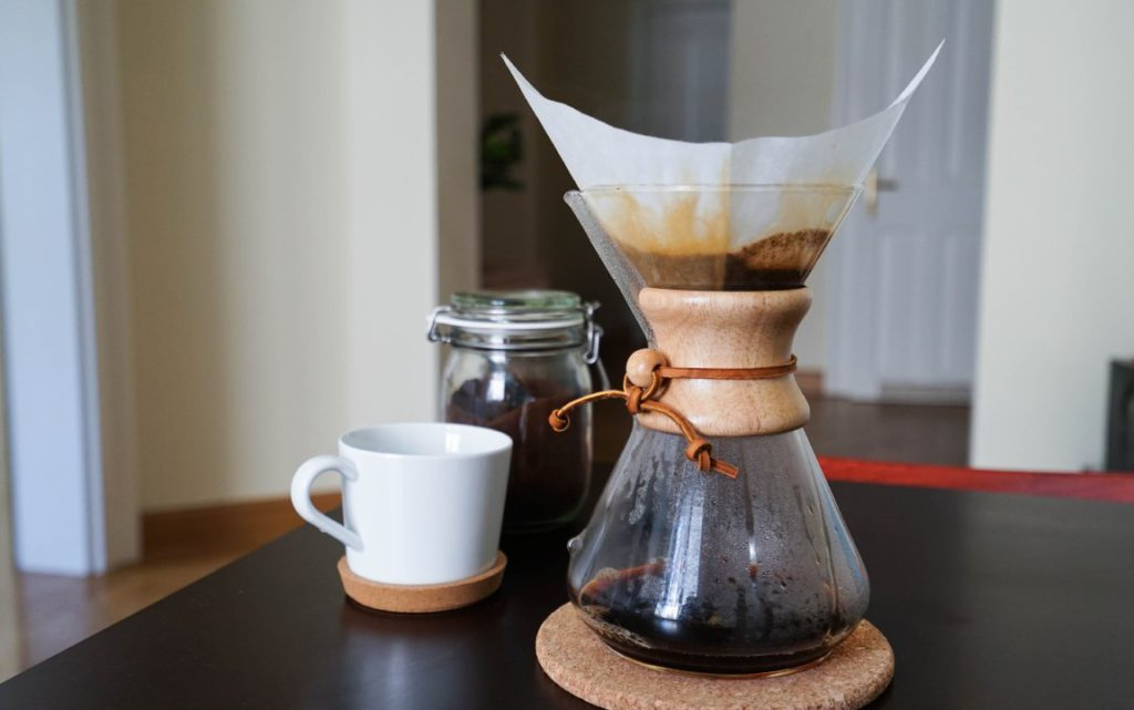 chemex at home coffee consumption