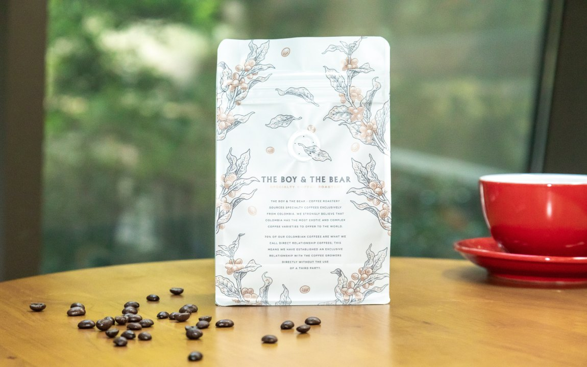 specialty coffee packaging