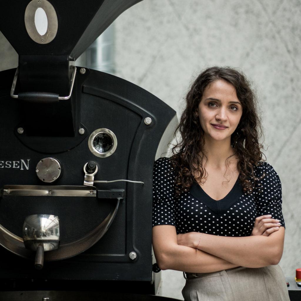 MTPak Coffee Ambassador Mihaela Iordache