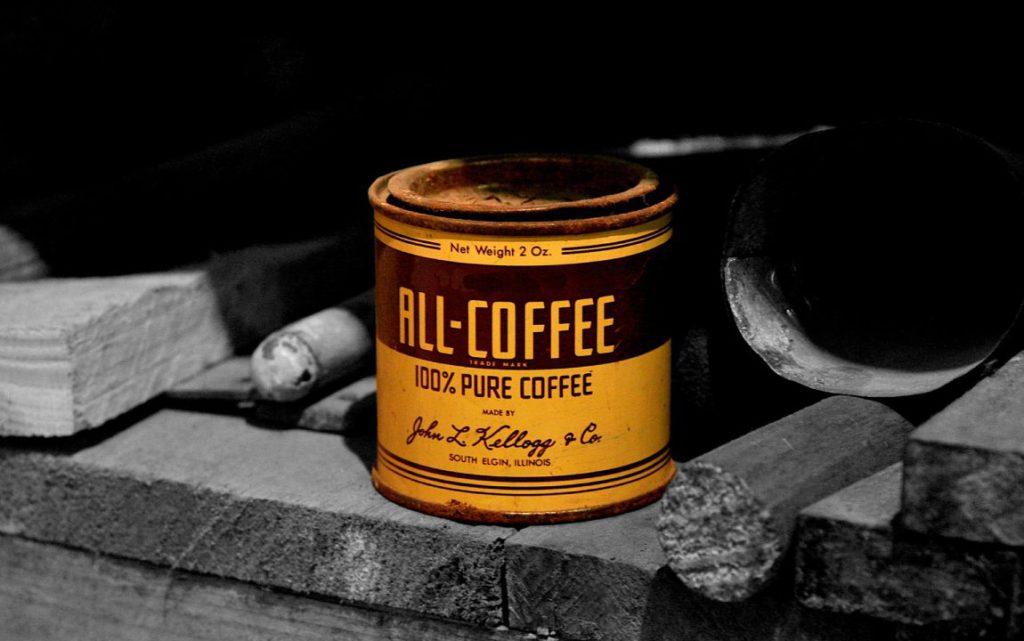 coffee packaging tin