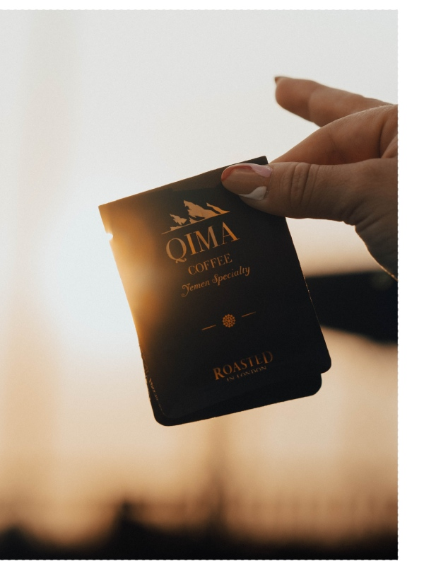 qima sustainable coffee packaging