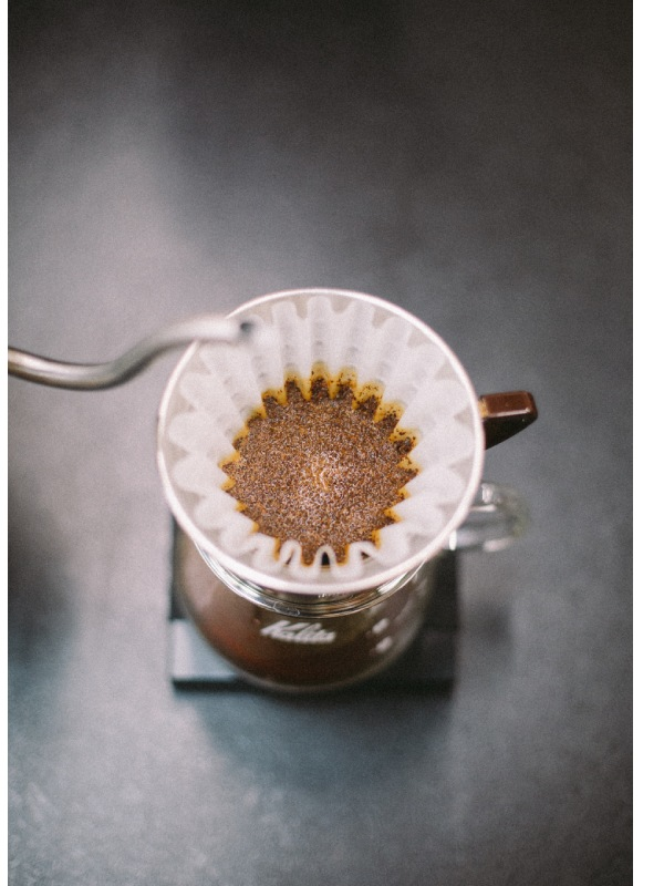 pour over filter coffee