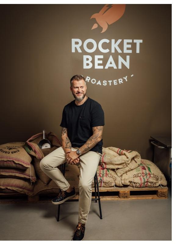 ancis romanovskis rocket bean roastery